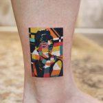 Polygonal Hepburn by @polyc_sj