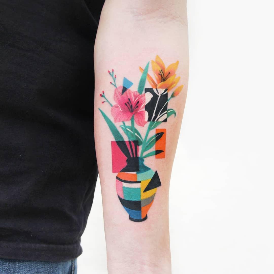 Polygonal vase by @polyc_sj