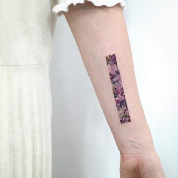 Purple autumn by @tattooist_sigak