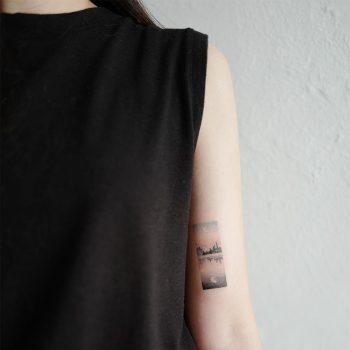 Quiet evening tattoo by @tattoo_a_piece