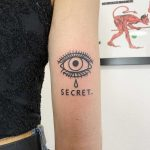 Secret tattoo by @themagicrosa