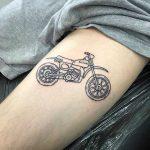 Suzuki RM50 tattoo by @themagicrosa
