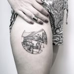 Vietnam, Cambodia tattoo by @mariafernandeztattoo