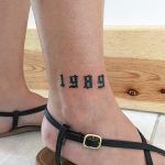 1989 tattoo by @soychapa