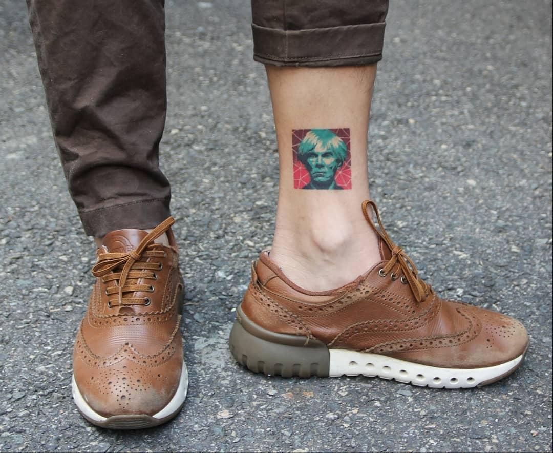Andy Warhol by @polyc_sj