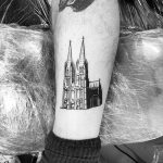 Another Cologne Cathedral by @alexbergertattoo
