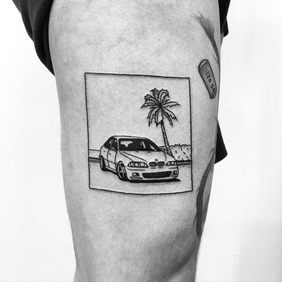 BMW by @alexbergertattoo