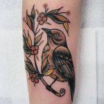 Barry the fledgling tattoo by @rabtattoo