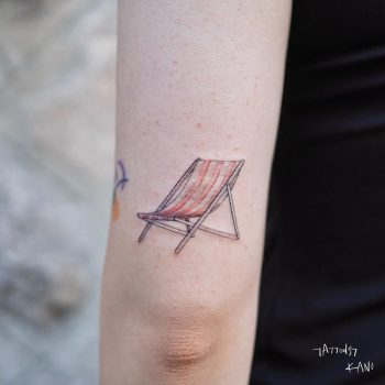 Beach Chair by @tattooist_kano