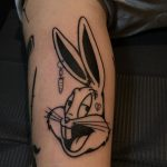 Bugs Bunny tattoo by @tototatuer