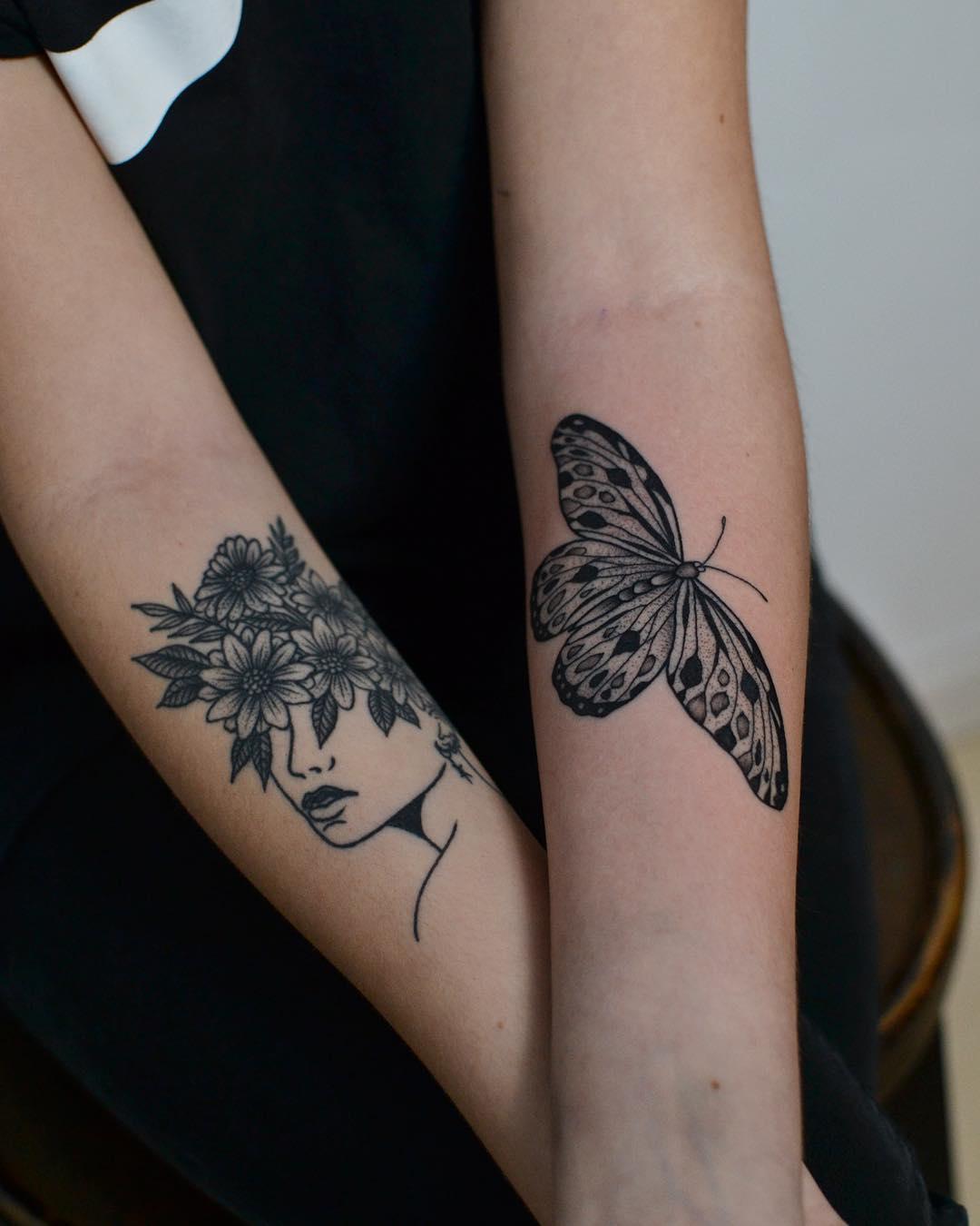 Butterfly by @tototatuer