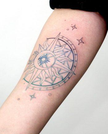 Clow card️ tattoo by @tattooist_sigak