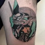 Evangelion tattoo by @facundo.erpen