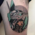 Evangelion tattoo by @facundo.erpen