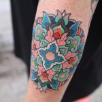 Floral mandala by @pitta_kkm