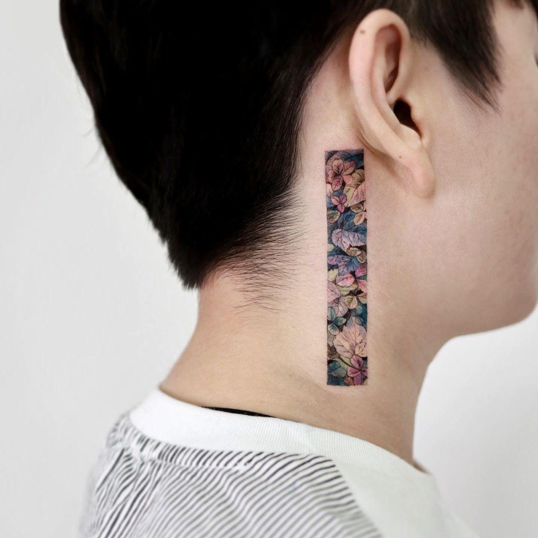 Framed plants by @tattooist_sigak