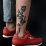 Freehand flower by @tototatuer