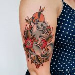Grey squirrel tattoo by @rabtattoo