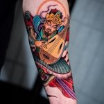 Guardians of eastin tattoo by @jin_qchoi