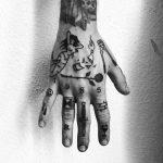 Hand by @alexbergertattoo