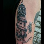 Helter Skelter tattoo by @rabtattoo