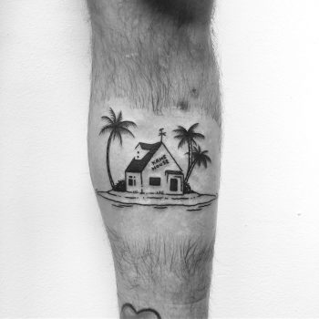 Kame House by @alexbergertattoo