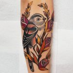 Long Tailed Tit tattoo by @rabtattoo