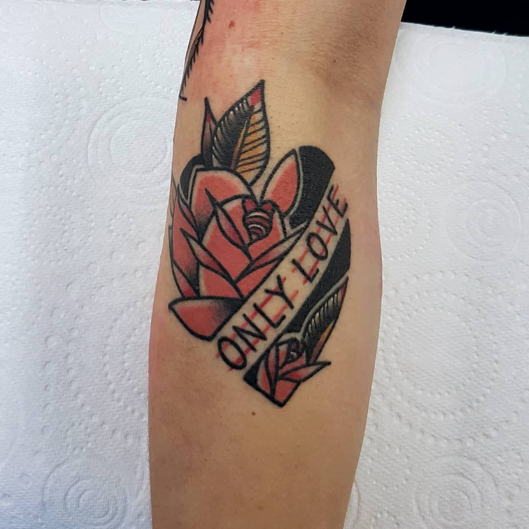 Only love by @rabtattoo