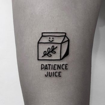 Patience juice by @nancydestroyer