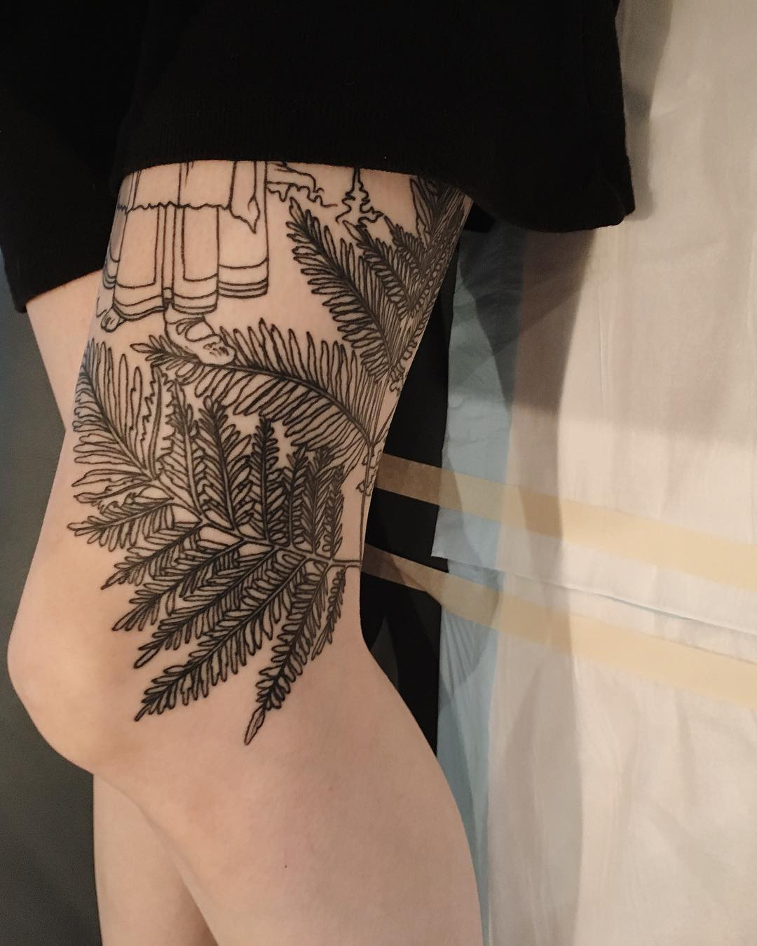 Russian fairytale leg sleeve by @sophiabaughan