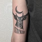 Stay wild by @justinoliviertattoo