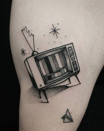 TV by @thomasetattoos