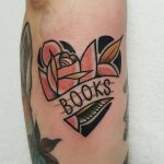 Tattoo for a reader by @rabtattoo
