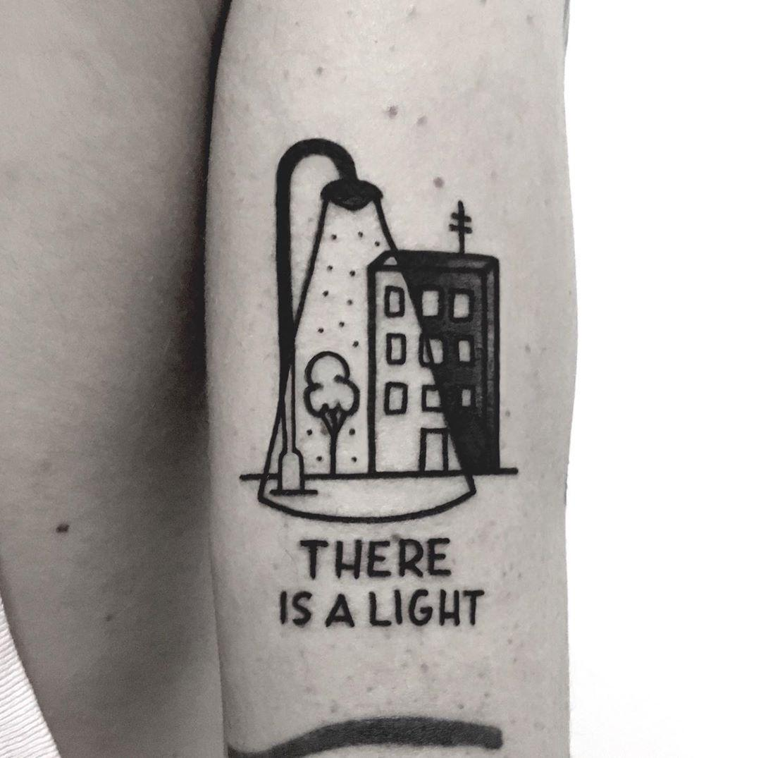 There is a light by @nancydestroyer