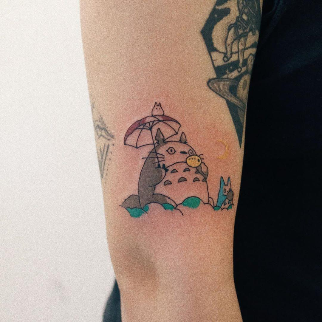 Totoro by @takemymuse