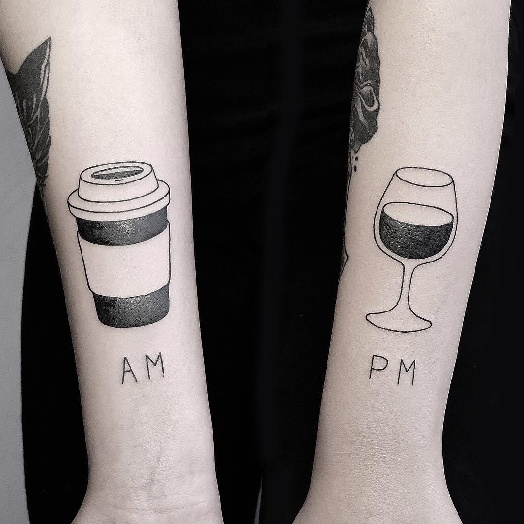 AM and PM drinks by @mateutsa