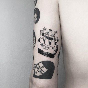 Favorite life remnants tattoo by @mateutsa
