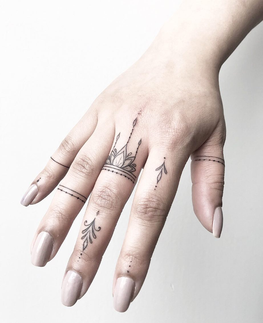 Finger ink by @joannamroman