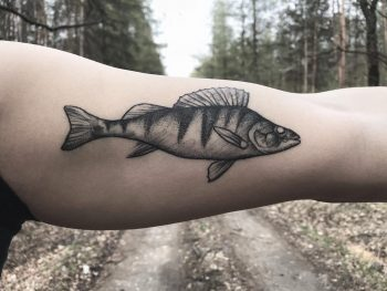 Fishy by @inksil