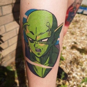 Piccolo tattoo by @stickypop
