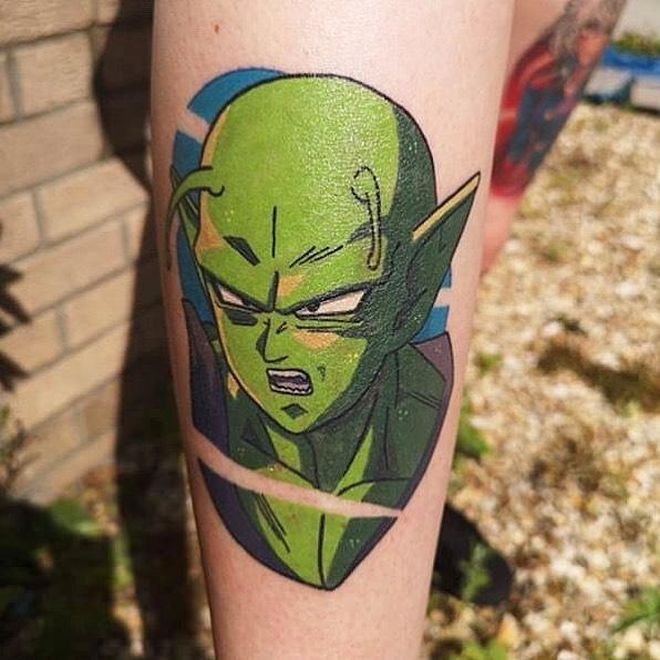 Piccolo tattoo by @stickypop