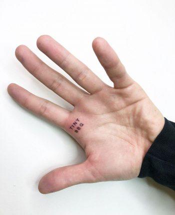 Tiny BBQ tattoo by @joannamroman