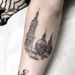 Cathedral-Basilica of Our Lady of the Pillar tattoo by @isaarttattoo