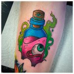 Eyeball in a bottle by @stickypop