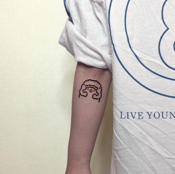 Cute tattoo by @88world.co.kr
