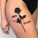 Sweet Dreams tattoo by @tatti040