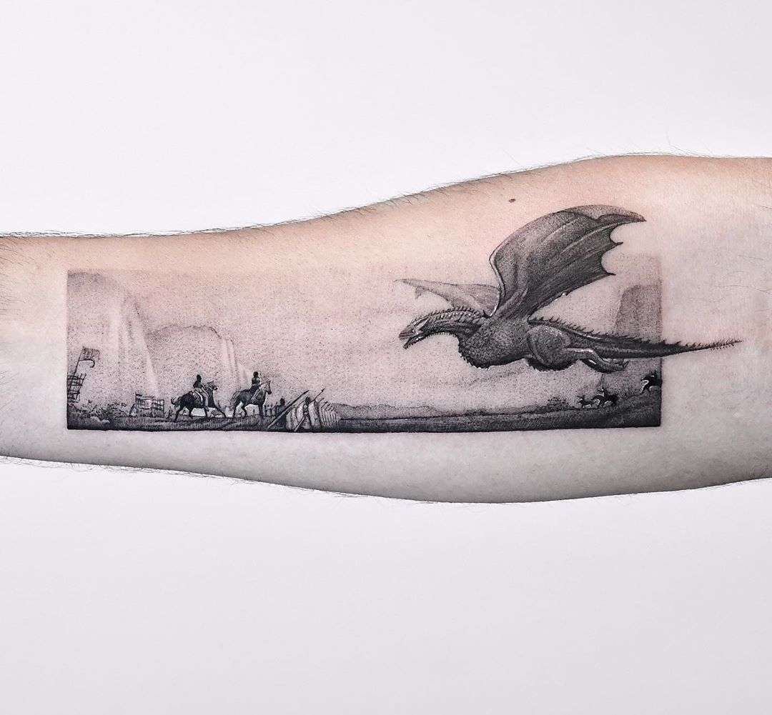 The Loot Train Attack Game of Thrones ️Seas by Edit Paints Tattoo