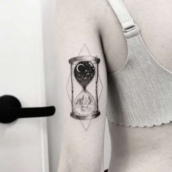 Time by tattooist Ian Wong