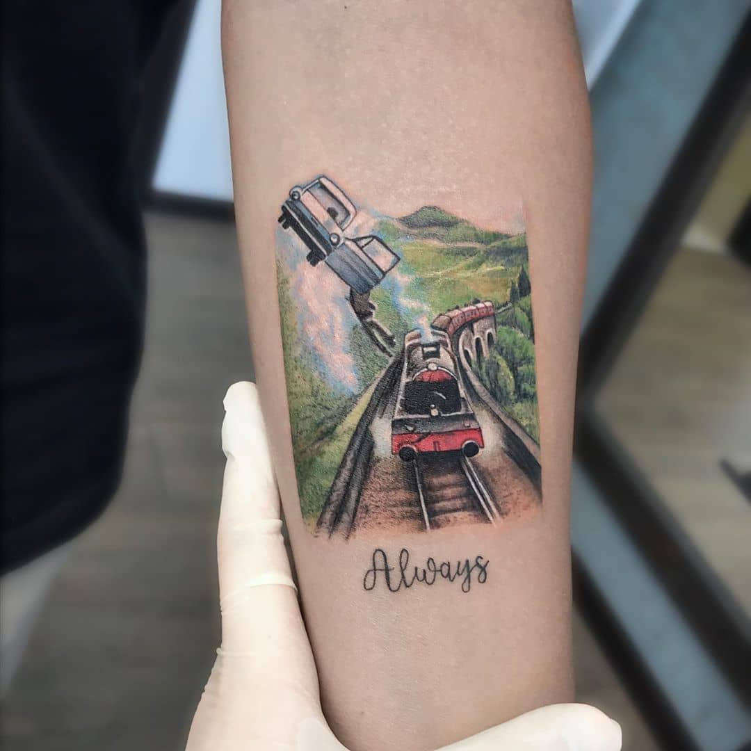 Harry Potter Universe by tattooist Anna Zelenska