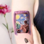 Matilda on a starry starry night by Edit Paints Tattoo